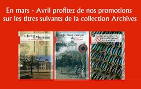 REMISES EXCEPTIONNELLES SUR LES PUBLICATIONS SCIENTIFIQUES DU MUSÉUM