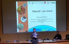 Symposium au Muséum sur la microbiologie des sols Français le 18 janvier 2019