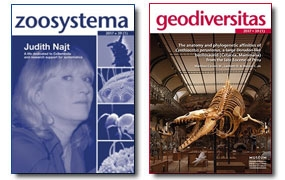 New releases:  Geodiversitas 39 (1) and Zoosystema 39 (1)