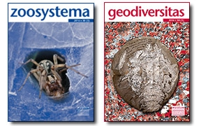 Nouvelles parutions : Geodiversitas 38 (3) et Zoosystema 38 (3)