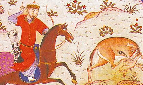 L'iconographie zoomorphe du début du 8e siècle représentée sur les décorations murales de Qasr al-Amra, Royaume hachemite de Jordanie
