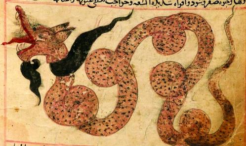 Les représentations zoomorphiques de la carte de Pîrî Reis (1513)