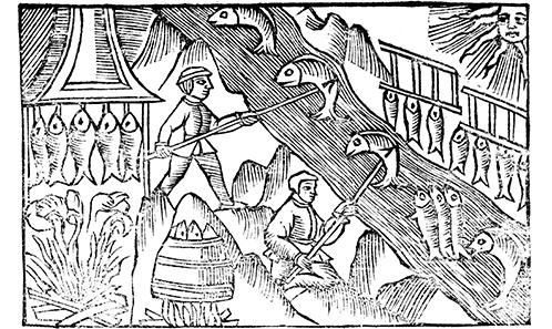 Les pêches miraculeuses de Godric de Finchale: dauphins et saumons à volonté dans la vie d'un saint anglais du XII<sup>e</sup>siècle