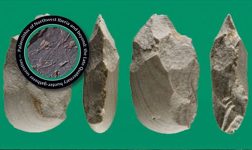 Les peuplements humains anciens du Nord-Ouest de la péninsule Ibérique: l'enregistrement archéologique de la partie inferieure du bassin du Miño au cours de la seconde moitié du Pléistocène moyen