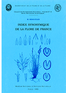 Index synonymique de la flore de France