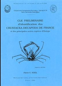 Clé préliminaire d'identification des Crustacea Decapoda de France
