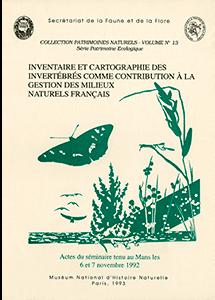 L'inventaire et la cartographie des Invertébrés comme contribution à la gestion des milieux naturels français