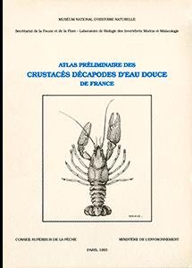 Atlas préliminaire des crustacés décapodes d'eau douce de France