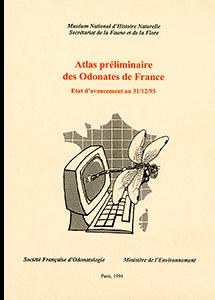 Atlas préliminaire des Odonates de France