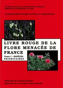 Livre rouge de la flore menacée de France