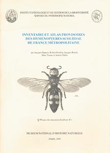 Inventaire et atlas provisoires des Hyménoptères Scoliidae de France métropolitaine