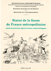 Statut de la faune de France métropolitaine