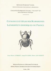Catalogue et atlas des Scarabeides Laparosticti endémiques de France