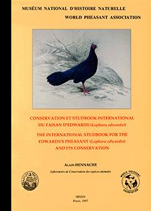Conservation et Studbook international du Faisan d'Edwards (<i>Lophura edwardsi</i>)