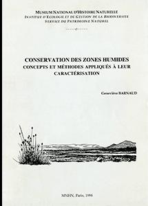 Conservation des zones humides : concepts et méthodes appliqués à leur caractérisation