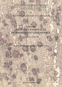 Actes des journées nationales du patrimoine géologique