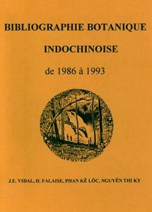Bibliographie Botanique Indochinoise de 1986 à 1993