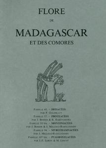 Iridaceae (2e éd. revue et mise à jour), Proteaceae, Montiniaceae, Myrothamnaceae, Ptaeroxylaceae
