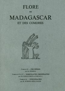 Cruciferae, Moringaceae, Droseraceae, Nepenthaceae