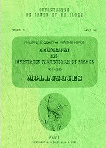 Bibliographie des inventaires faunistiques de France (1758-1980)
