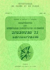 Bibliographie des inventaires faunistiques de France (1758-1979)