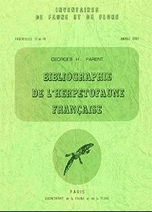 Bibliographie de l'Herpétofaune Française