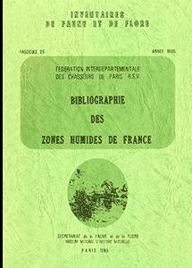 Bibliographie des zones humides de France