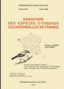 Inventaire des espèces d'Oiseaux occasionnelles en France