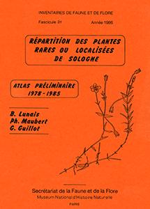 Répartition des plantes rares et localisées de Sologne