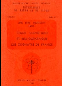 Etude faunistique et bibliographie des Odonates de France