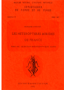 Les Hétéroptères Mirides de France