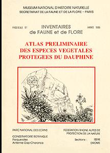 Atlas préliminaire des espèces végétales protégées du Dauphiné