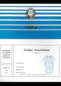 Zoologia Neocaledonica 3