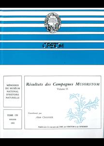 Résultats des Campagnes MUSORSTOM volume 11