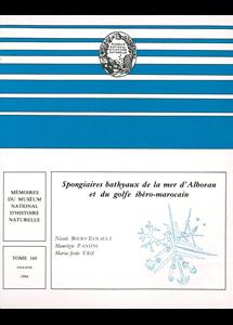 Spongiaires bathyaux de la mer d'Alboran et du golfe ibéro-marocain