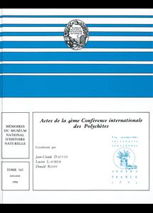 Actes de la 4ème Conférence Internationale des Polychètes