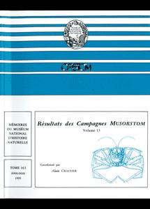 Résultats des Campagnes MUSORSTOM volume 13