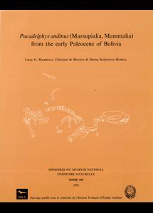 <i>Pucadelphys andinus</i> (Marsupialia, Mammalia) from the Early Paleocene of Bolivia