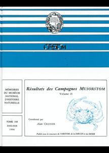Résultats des Campagnes MUSORSTOM volume 15