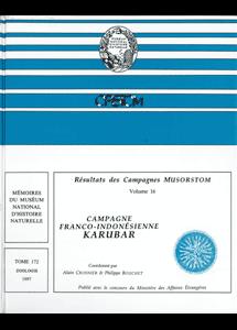 Résultats des Campagnes MUSORSTOM volume 16