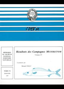 Résultats des Campagnes MUSORSTOM volume 17