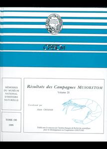 Résultats des Campagnes MUSORSTOM volume 20