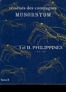 Résultats des Campagnes MUSORSTOM I et II.