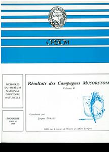 Résultats des campagnes MUSORSTOM volume 4