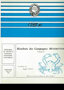 Résultats des campagnes MUSORSTOM volume 5