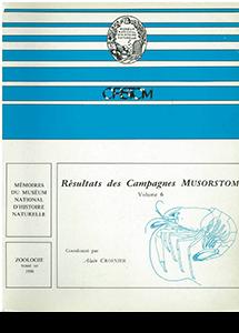 Résultats des campagnes MUSORSTOM volume 6
