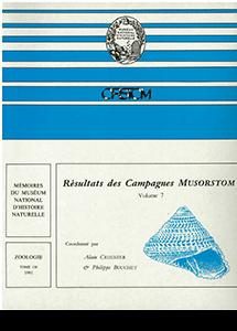 Résultats des campagnes MUSORSTOM volume 7