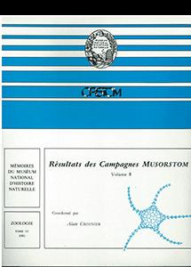 Résultats des campagnes MUSORSTOM volume 8