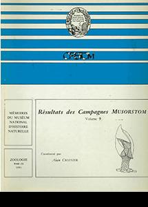 Résultats des campagnes MUSORSTOM volume 9