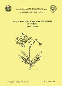 Liste des espèces végétales protégées en France
